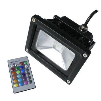 LED RGB reflektor 10W 230V