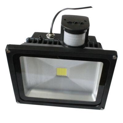 LED Mozgásérzékelős reflektor 30W 230V 2780lm 6-6500K