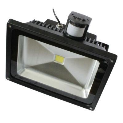 LED Mozgásérzékelős reflektor 50W 230V 4615lm 6-6500K