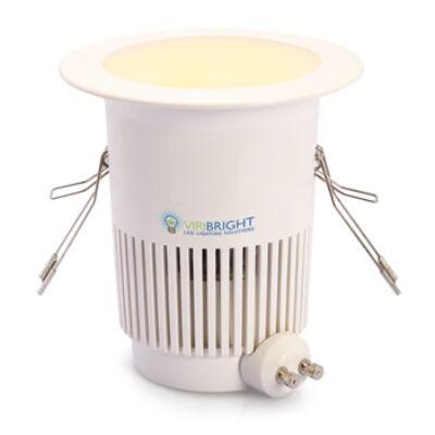 LED GU10 10W 800lm 2800K szabályozható mélysugárzó